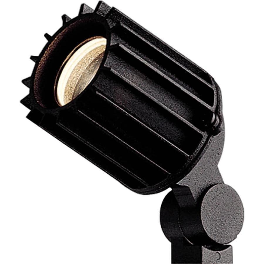 Progress Lighting Black Low Voltage 50-Watt (50W Equivalent) Incandescent Spot Light