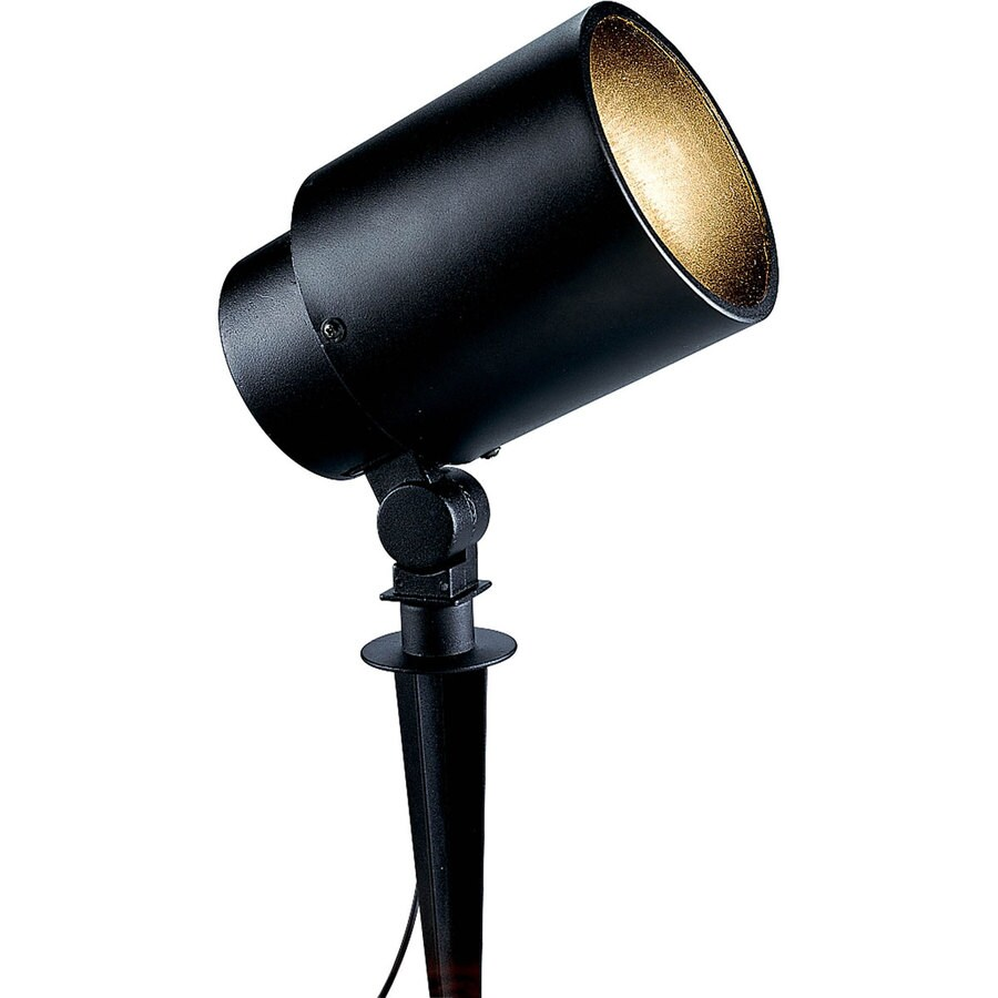 Progress Lighting Black Line Voltage 75-Watt (75W Equivalent) Incandescent Spot Light