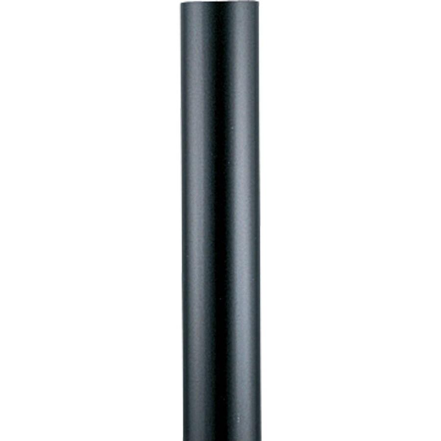 Progress Lighting Black 144-in Post Light Pole