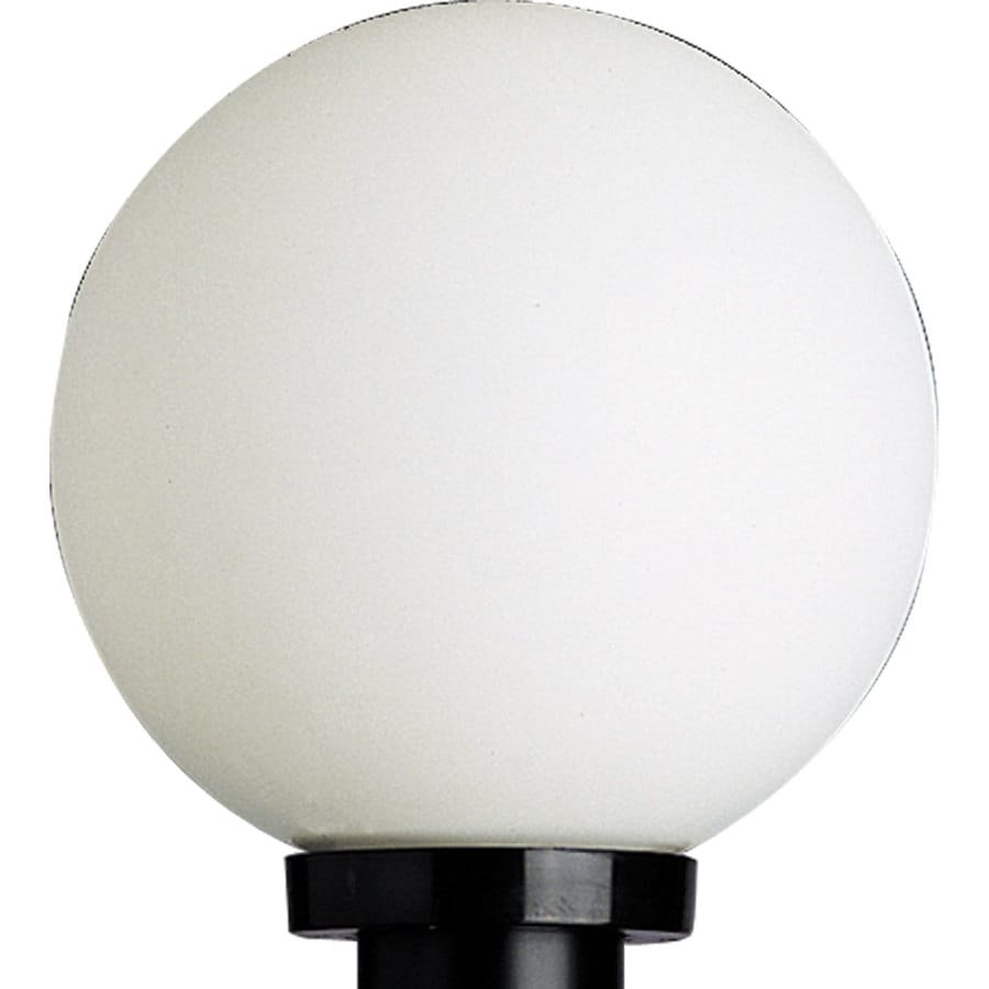 Shop Progress Lighting Globe H Black Post Light At