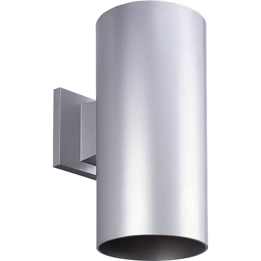 Progress Lighting 12-in H Metallic Gray Dark Sky Outdoor Wall Light