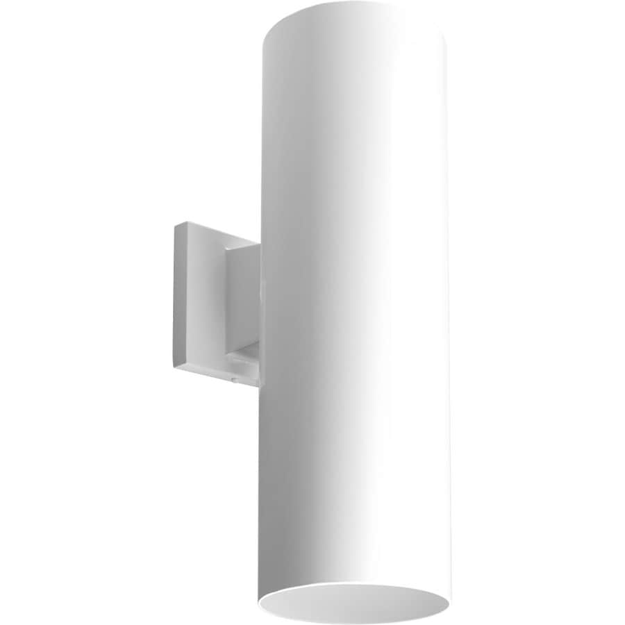Progress Lighting 18-in H White Dark Sky Outdoor Wall Light