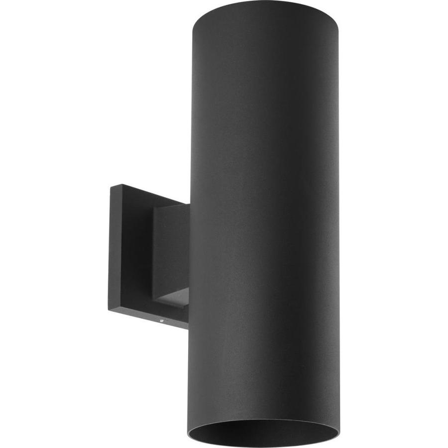 Dark Sky Wall Lights : Shop Progress Lighting 14-in H Black Dark Sky Outdoor Wall Light at Lowes.com