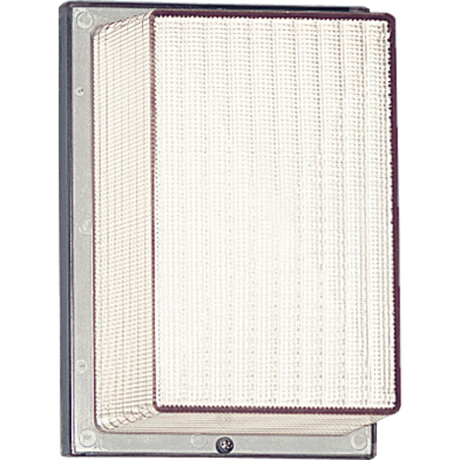 Progress Lighting Hard-Nox 8.25-in H White Outdoor Wall Light