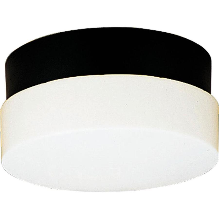 Progress Lighting Hard-Nox 5.25-in H Black Outdoor Wall Light