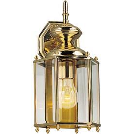 Progress Lighting Brassguard 14.25 In H Polished Brass Medium Base (E 26)