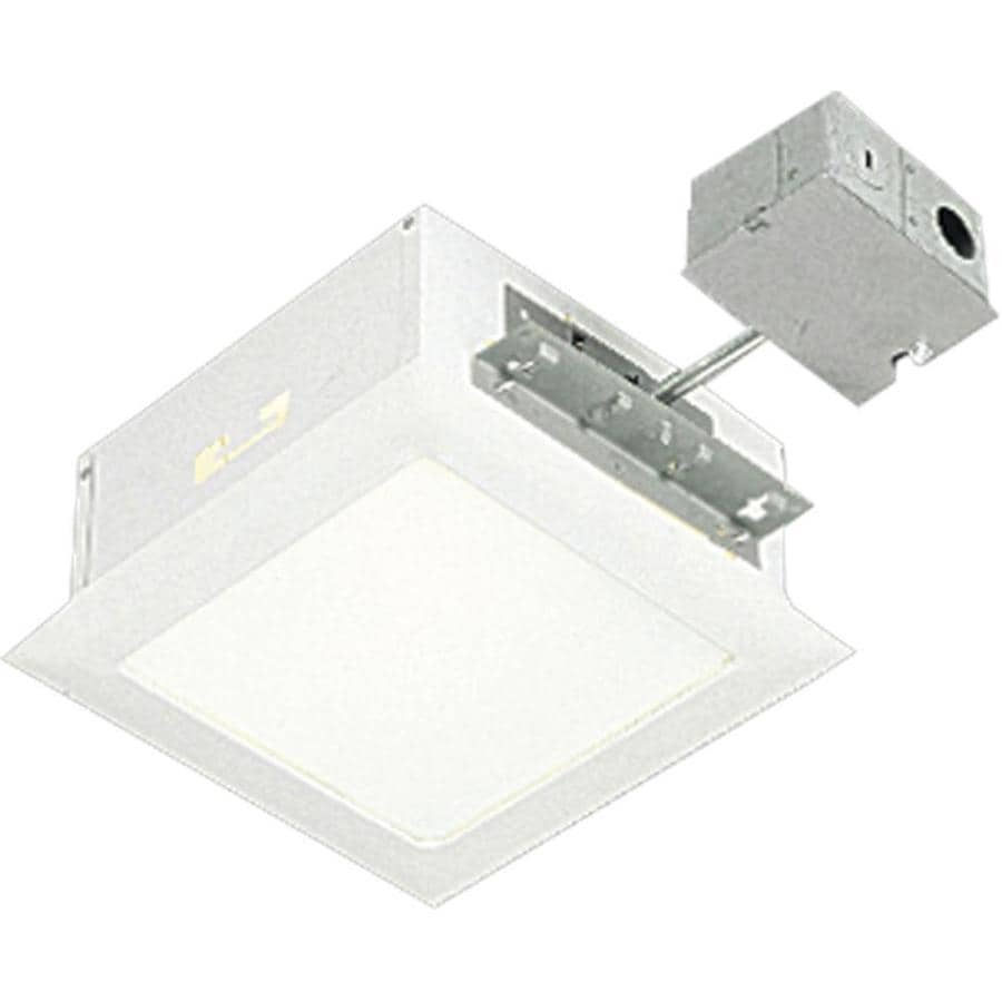 Progress Lighting White Recessed Light Kit (Fits Opening: 8-in)