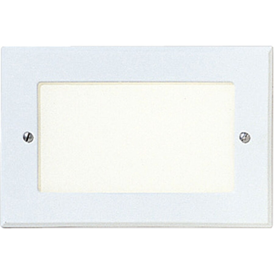 Progress Lighting White Recessed Light Kit (Fits Opening: 8-in)