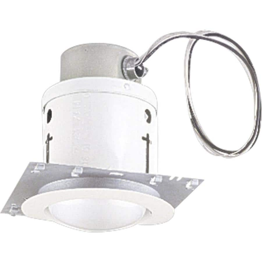 Progress Lighting White Recessed Light Kit (Fits Opening: 5-in)