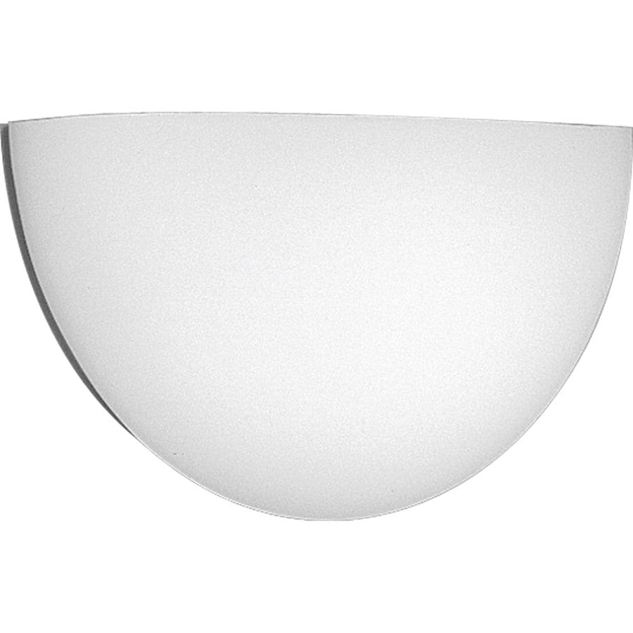 Progress Lighting Wall Pocket 16-in W 1-Light White Pocket Wall Sconce
