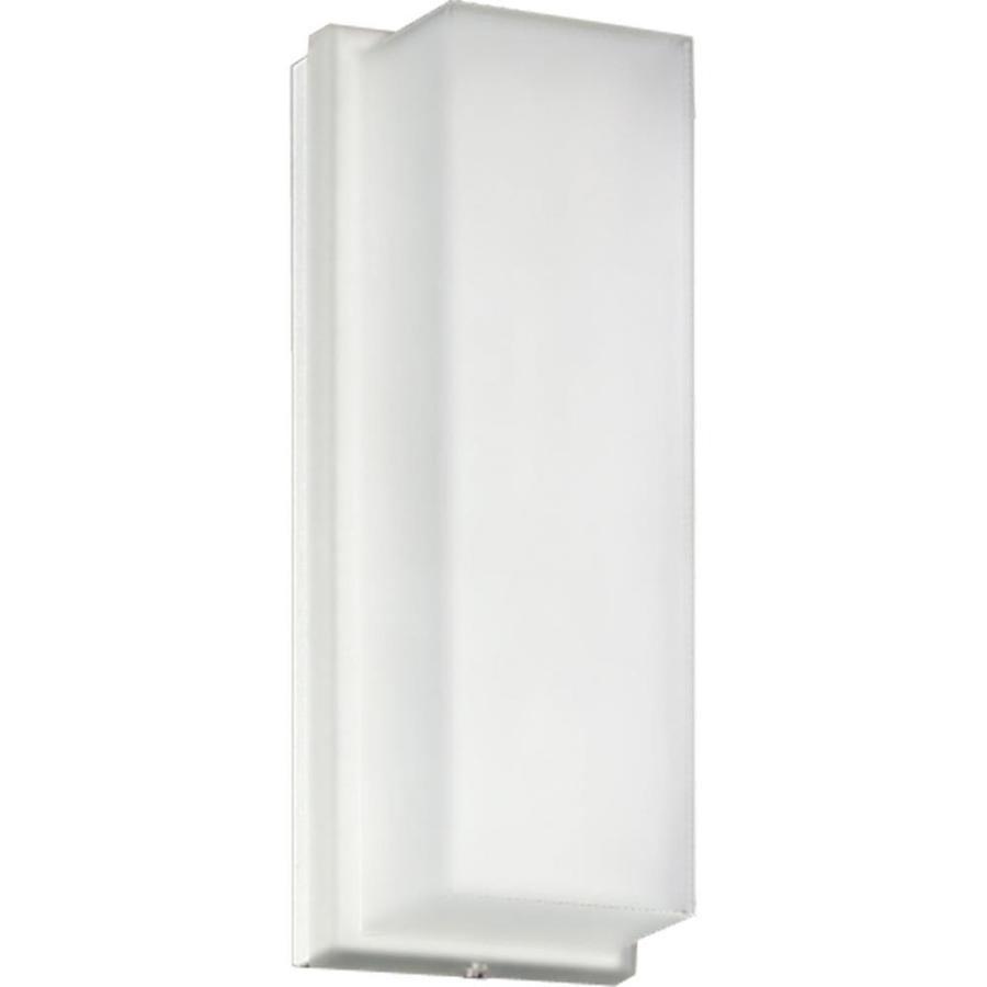 Progress Lighting Hard-Nox 12.25-in H White Outdoor Wall Light