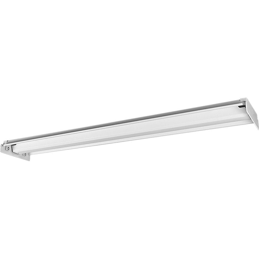 Progress Lighting Flush Mount Shop Light (Common: 4-ft; Actual: 15-in x 50.5-in)