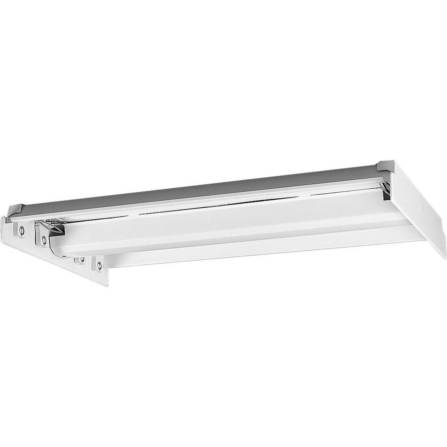 Led Garage Lights Lowes: Progress Lighting Flush Mount Shop Light (Common: 4-ft