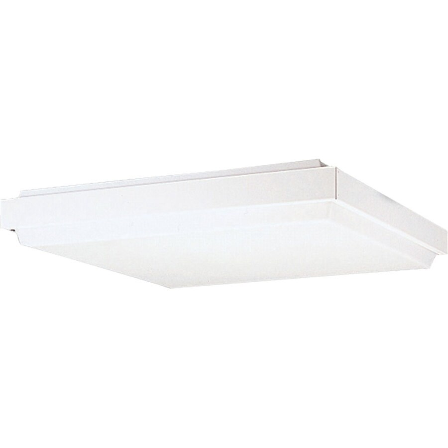 Progress Lighting Wrap Shop Light (Common: 2-ft; Actual: 24.50-in x 24.5-in)