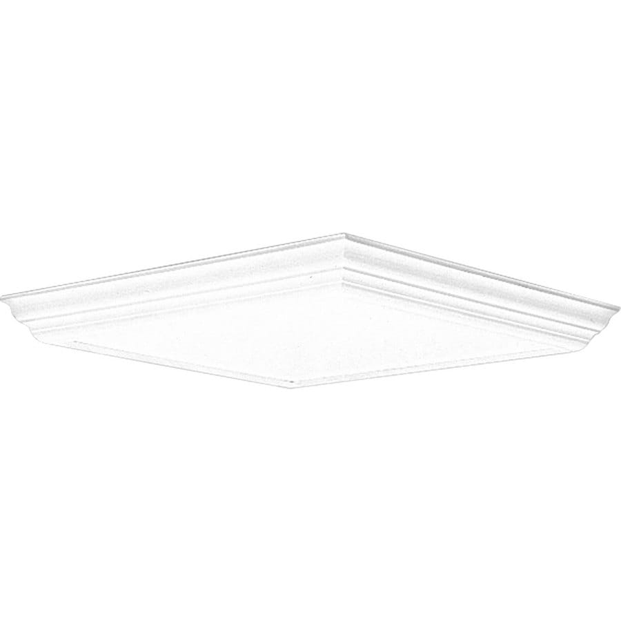 Progress Lighting Flush Mount Shop Light (Common: 2-ft; Actual: 26.5-in x 26-in)