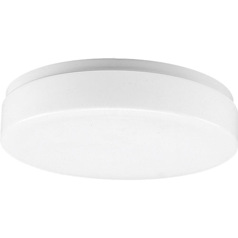 Progress Lighting Flush Mount Shop Light (Common: 1.5-ft; Actual: 11-in x 11-in)