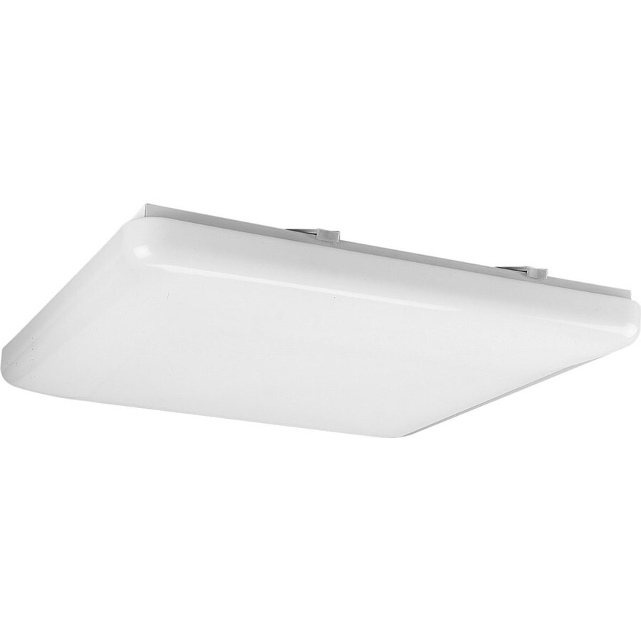 Progress Lighting Flush Mount Shop Light (Common: 1.5-ft; Actual: 19-in x 19-in)