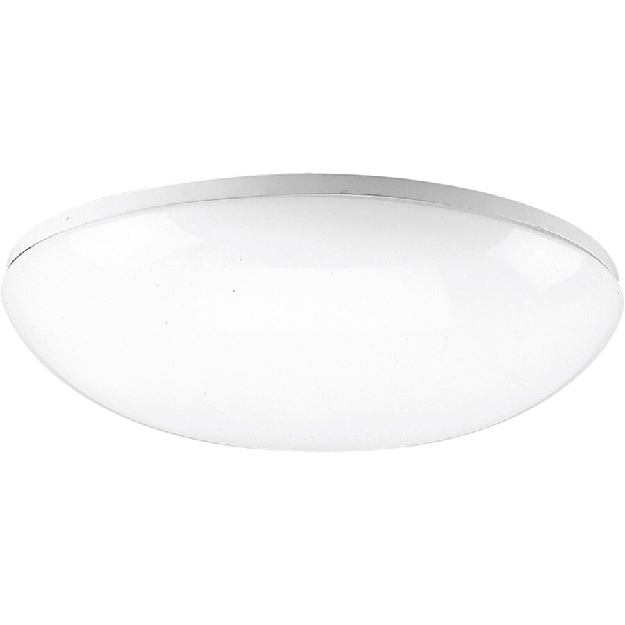 Progress Lighting Flush Mount Shop Light (Common: 1.5-ft; Actual: 18.12-in x 18.12-in)