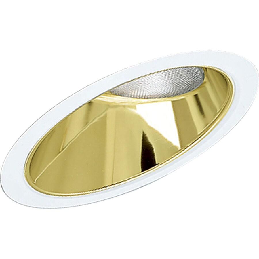 Progress Lighting Gold Alzak Reflector Recessed Light Trim (Fits Housing Diameter: 8-in)
