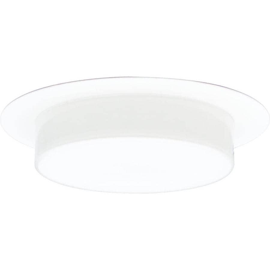 Progress Lighting White Shower Recessed Light Trim (Fits Housing Diameter: 6-in)