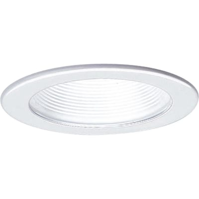 Recessed Lighting Black Or White Baffle Martinique
