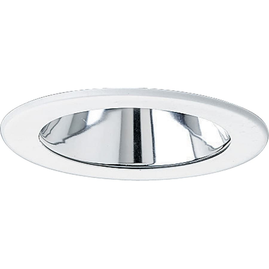 Progress Lighting Clear Alzak Reflector Recessed Light Trim (Fits Housing Diameter: 4-in)