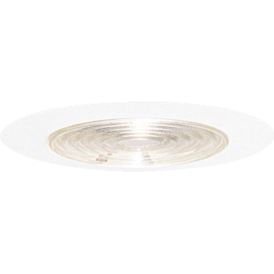 Progress Lighting White Shower Recessed Light Trim (Fits Housing Diameter: 6-in)