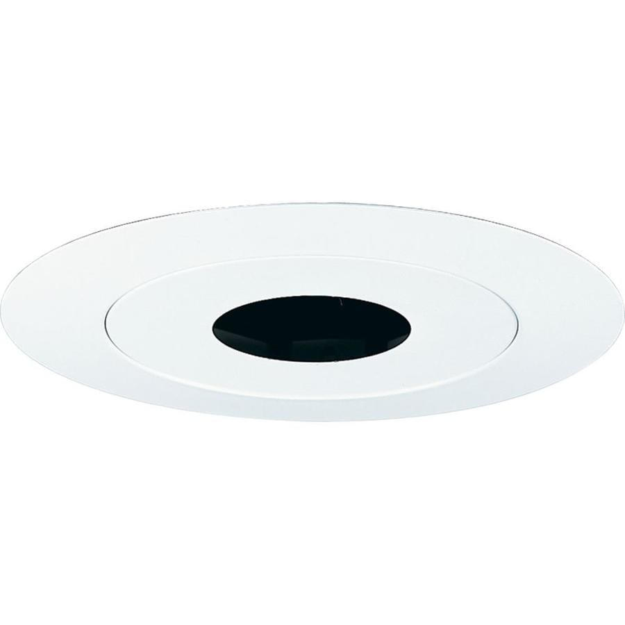Progress Lighting White Pin Hole Recessed Light Trim (Fits Housing Diameter: 6-in)