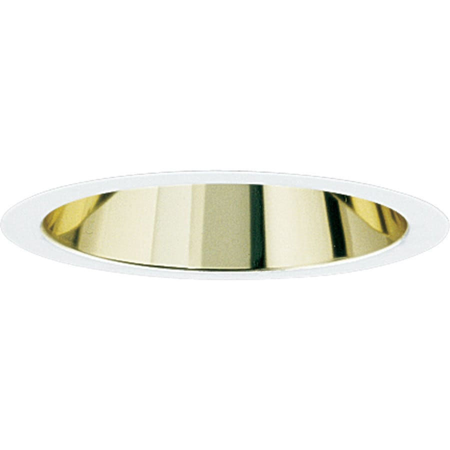 Progress Lighting Gold Alzak Reflector Recessed Light Trim (Fits Housing Diameter: 6-in)