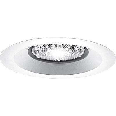White Open Recessed Light Trim