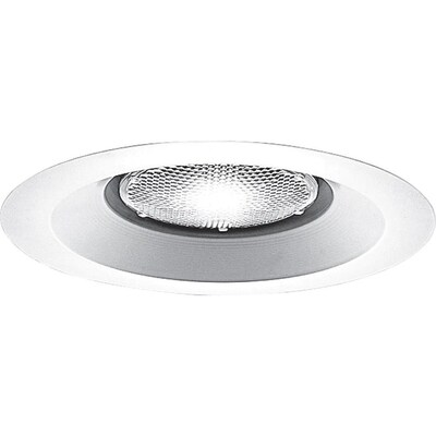 Progress Lighting White Open Recessed Light Trim Fits