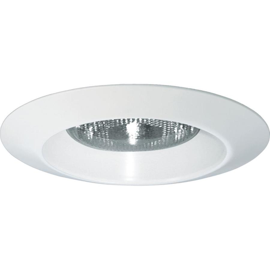 Progress Lighting White Open Recessed Light Trim (Fits Housing Diameter: 6-in)