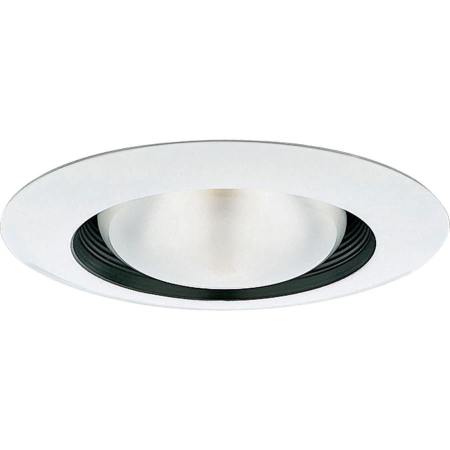 Progress Lighting Black Baffle Recessed Light Trim (Fits Housing Diameter: 6-in)