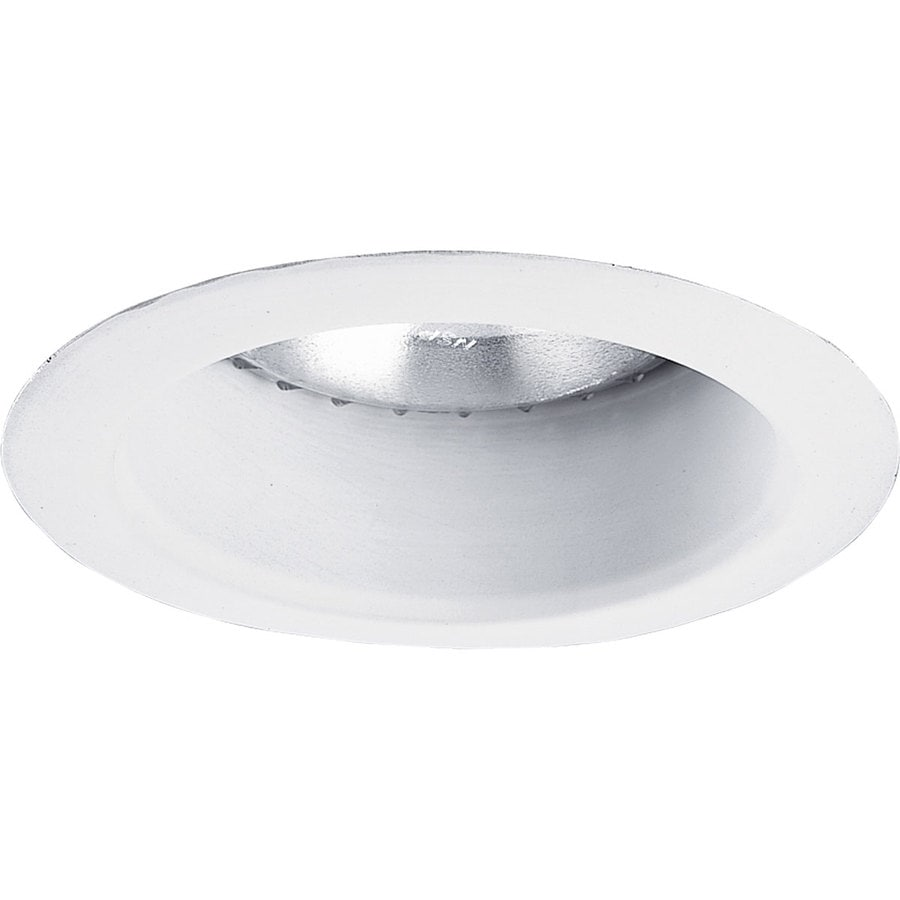Progress Lighting White Open Recessed Light Trim (Fits Housing Diameter: 5-in)