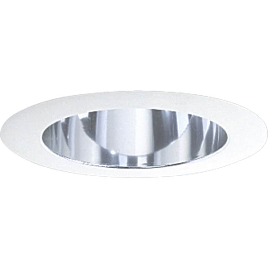 Progress Lighting Clear Alzak Reflector Recessed Light Trim (Fits Housing Diameter: 5-in)