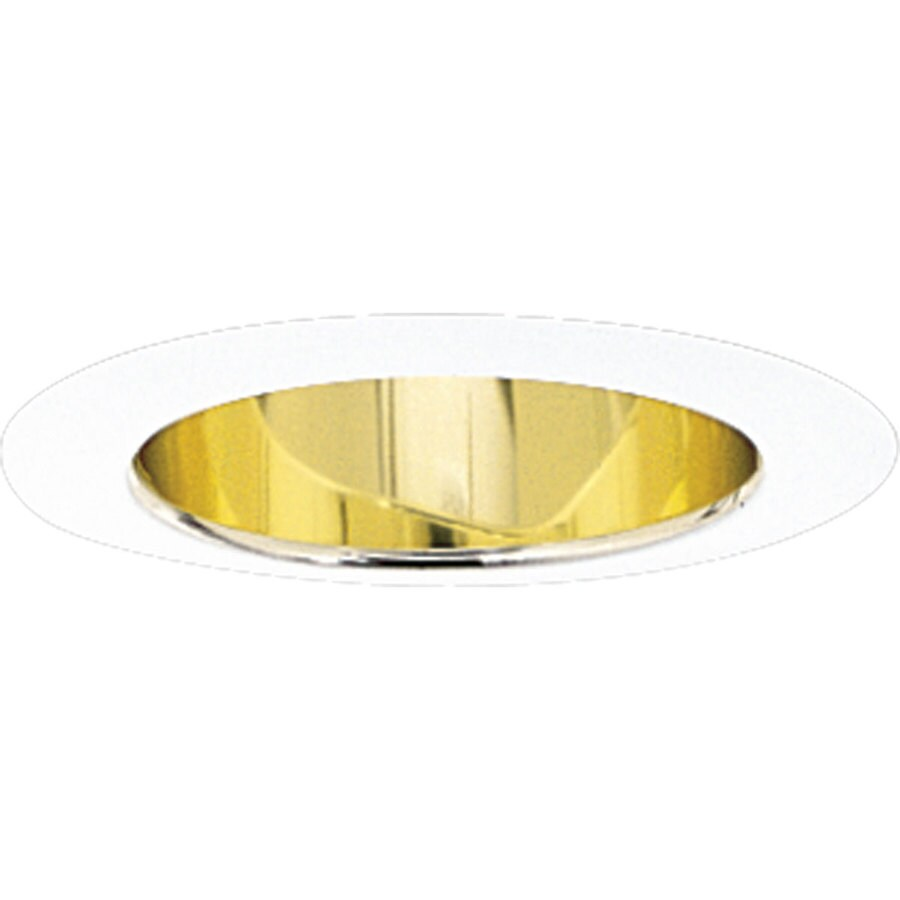 Progress Lighting Gold Alzak Reflector Recessed Light Trim (Fits Housing Diameter: 5-in)