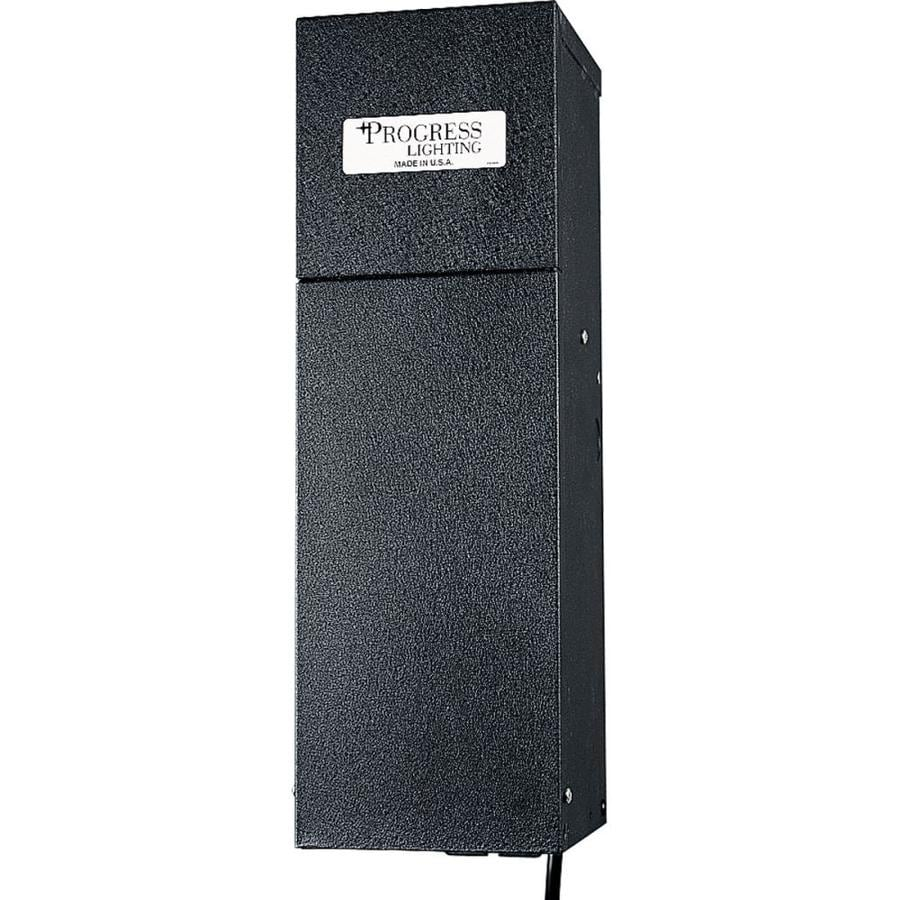 Progress Lighting 600-Watt 12-Volt Multi-Tap Landscape Lighting Transformer