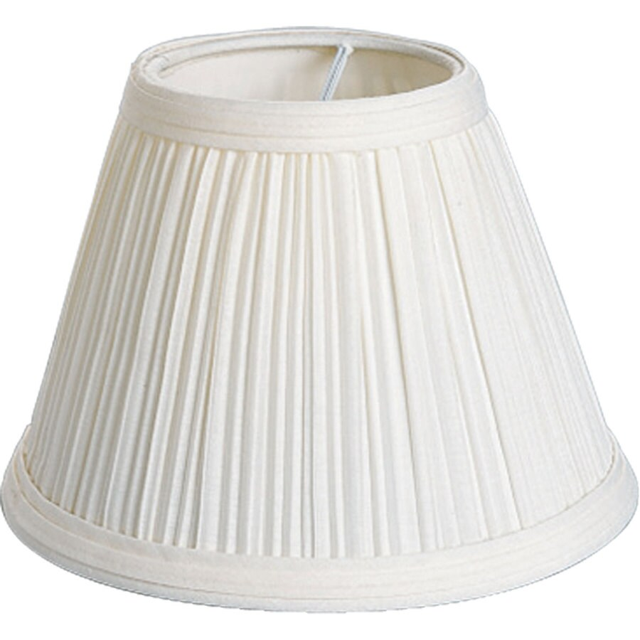 Shop progress lighting 425 in h beige chandelier light shade at progress lighting 425 in h beige chandelier light shade arubaitofo Choice Image