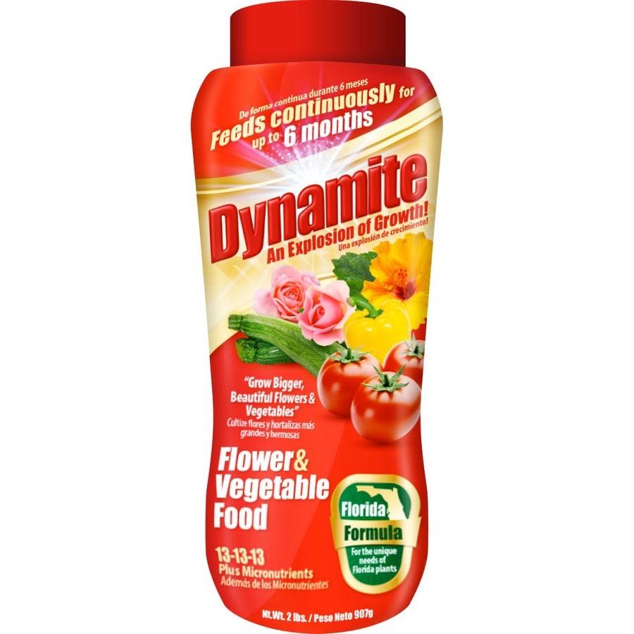 Dynamite 2-lb Flower and Vegetable Food