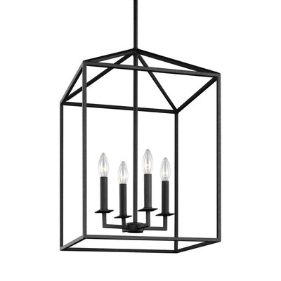 Sea Gull Lighting Sea Gull Lighting® LED Perryton Four Light Hall Foyer Fixture Blacksmith