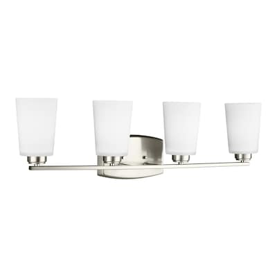 Sea Gull Lighting Franport 4 Light Nickel Transitional