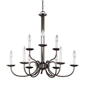 holman lighting ceiling fans at lowes Emerson Ceiling Fans sea gull lighting holman 9 light heirloom bronze transitional candle chandelier