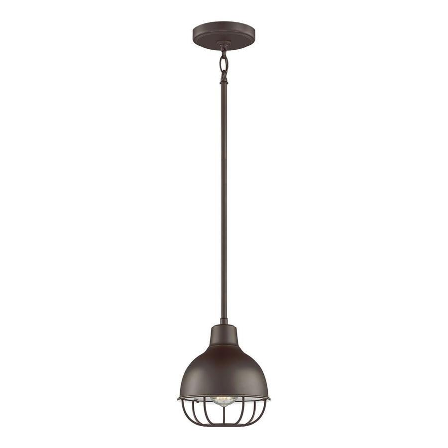 Original Warehouse Pendant Light: Sea Gull Lighting Jeyne Heirloom Bronze Mini Traditional