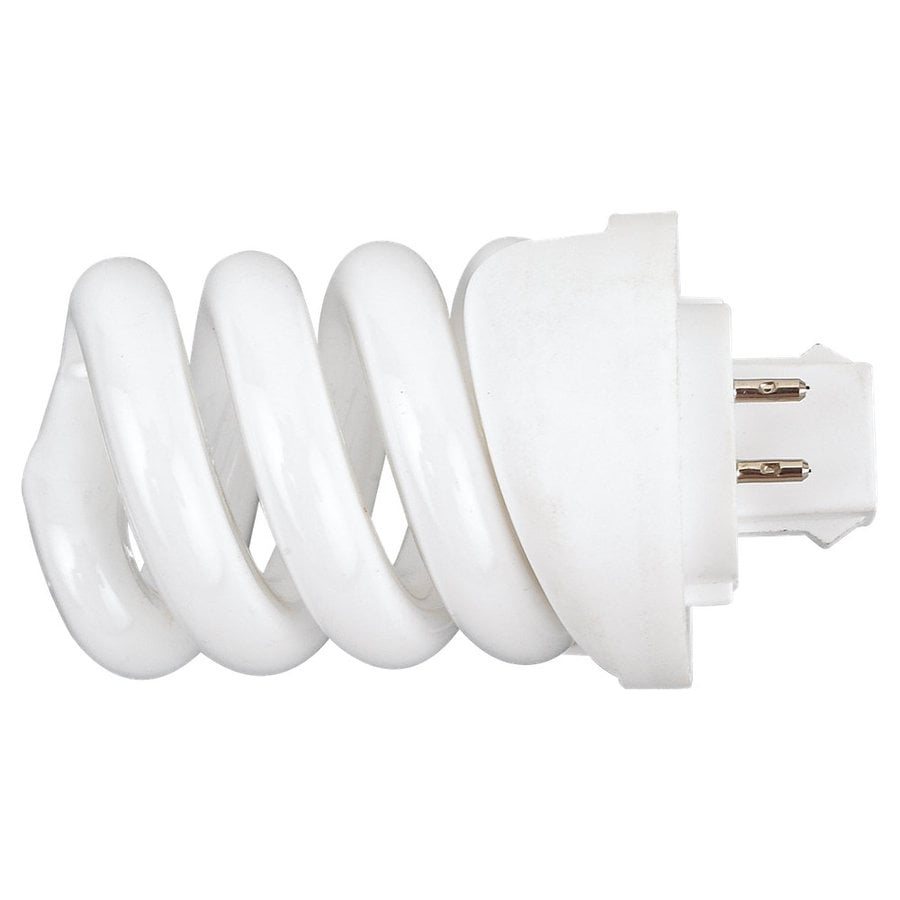 Sea Gull Lighting 13-Watt (60W) Plug-in Base Soft White (2700K) Decorative CFL Bulb