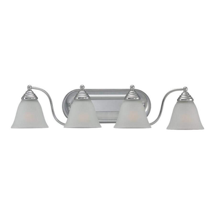 Sea Gull Lighting 4-Light Albany Chrome Bathroom Vanity Light