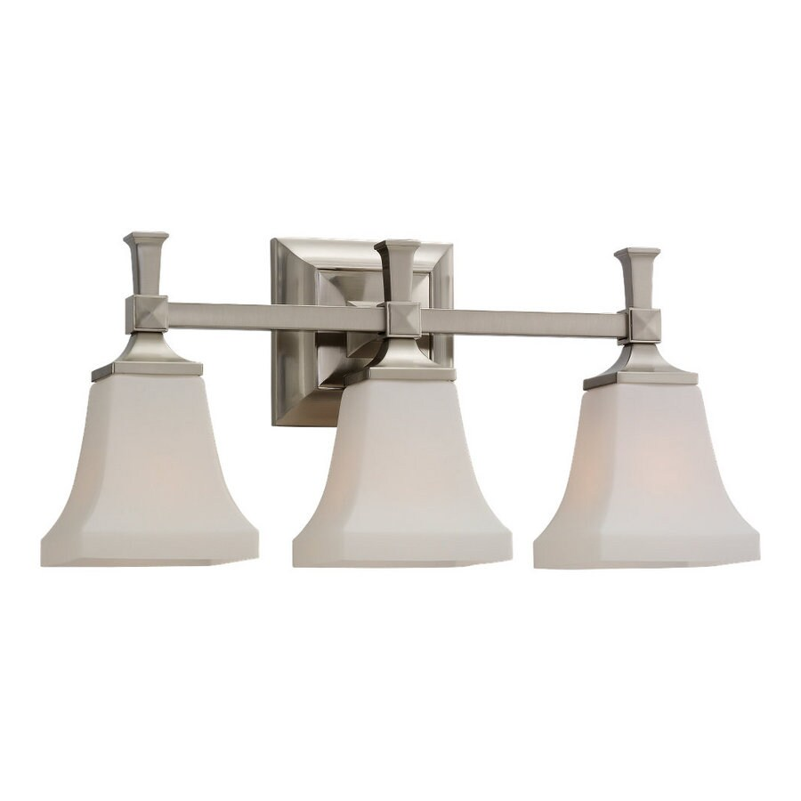 Sea Gull Lighting Melody 3-Light Brushed Nickel Vanity Light