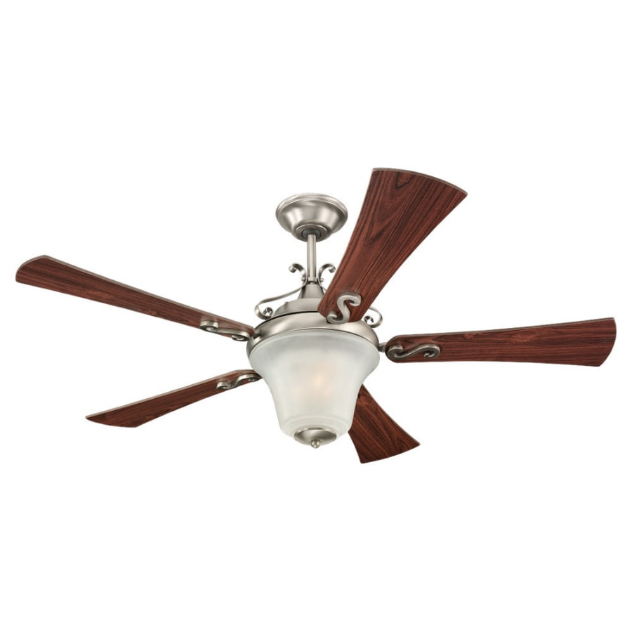 Sea Gull Lighting 52-in Multi-Position Ceiling Fan with Light Kit and Remote