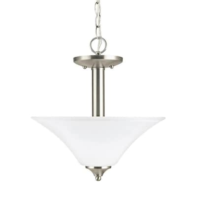Sea Gull Lighting Holman Brushed Nickel Modern Contemporary