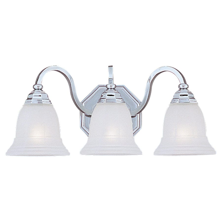 Sea Gull Lighting Blakely 3-Light Chrome Vanity Light