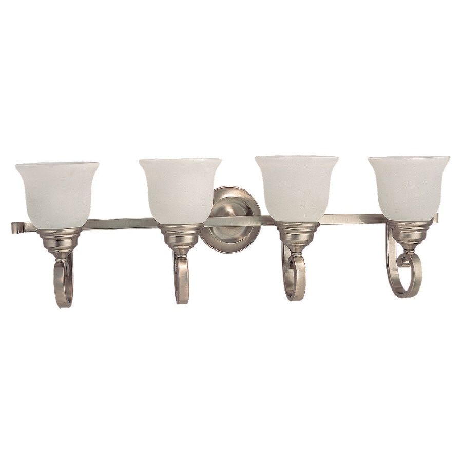 Sea Gull Lighting Serenity 4-Light Brushed Nickel Vanity Light